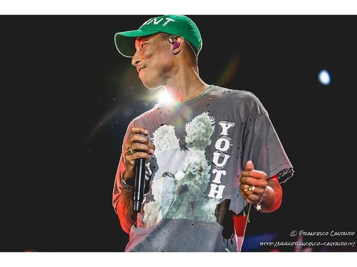 Pharrell Williams collabora con Lapo Elkann