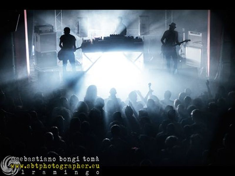 19 aprile 2013 - The Cage Theatre - Livorno - Motel Connection in concerto