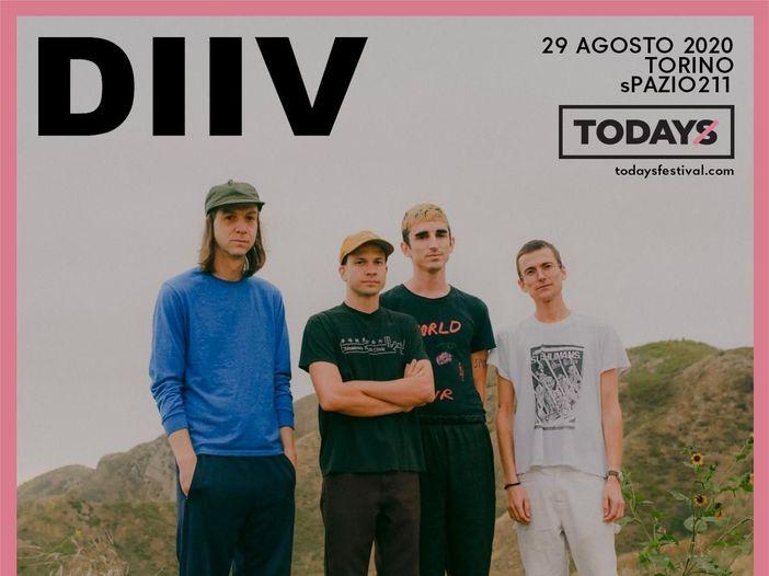 TOdays Festival: in cartellone anche i DIIV