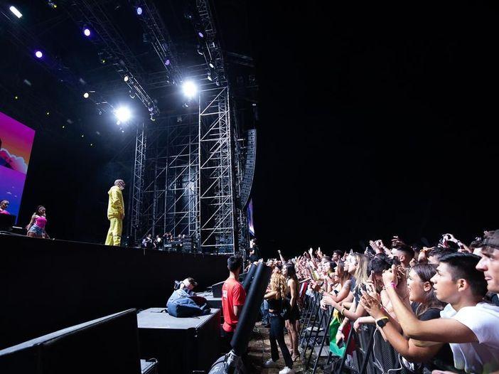 Bad Bunny in concerto a Rock in Roma: la diretta