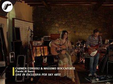 """Carmen Consoli - Carmen Consoli canta """"Parole di burro"""" per celebrare l'album """"Stato di necessità"""""""