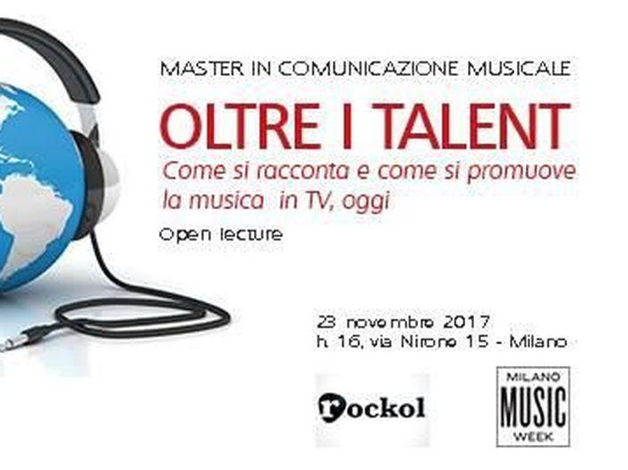 """Milano Music Week, la Open lecture di Rockol e Master Musica: """"La musica in tv oltre i talent"""""""