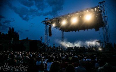 15 luglio 2017 - Anfiteatro del Vittoriale - Gardone Riviera (Bs) - Elbow in concerto