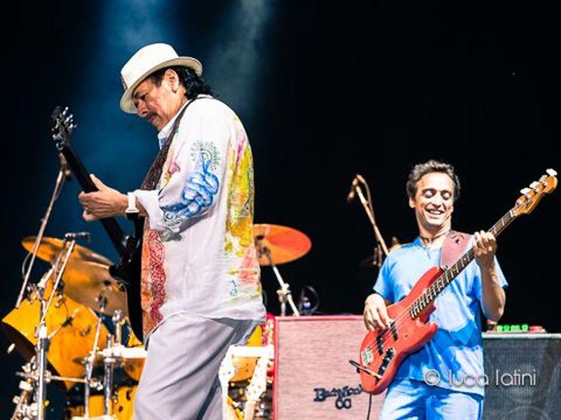 5 luglio 2013 - Anfiteatro Camerini - Piazzola sul Brenta (Pd) - Carlos Santana in concerto