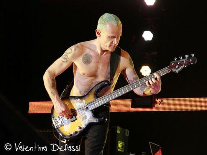 Red Hot Chili Peppers: Flea parla del playback al Super Bowl