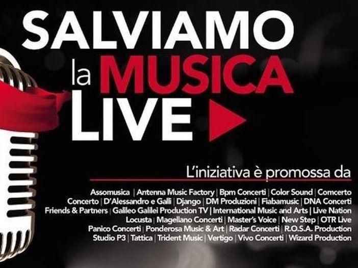 'Salviamo la musica live', l'appello al governo di artisti e promoter