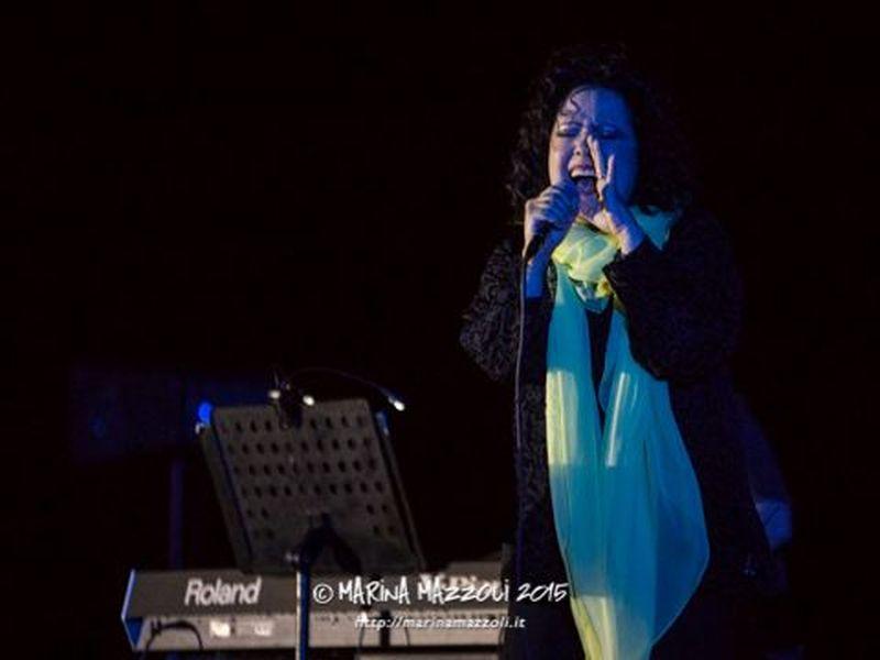 13 giugno 2015 - Lungomare - Camogli (Ge) - Antonella Ruggiero in concerto