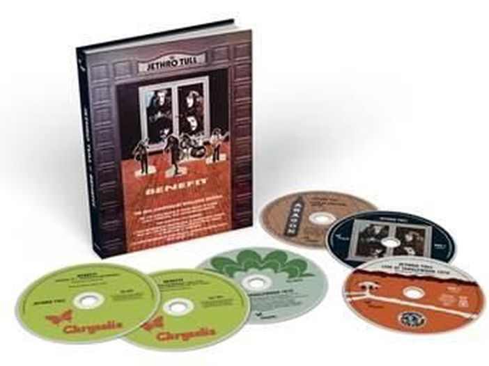 Jethro Tull, a novembre l'edizione (con inediti) per il 50esimo anniversario di 'Benefit'