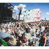 1 luglio 2017 - Parco Enzo Ferrari - Modena – Il pubblico in attesa del concerto di Vasco Rossi