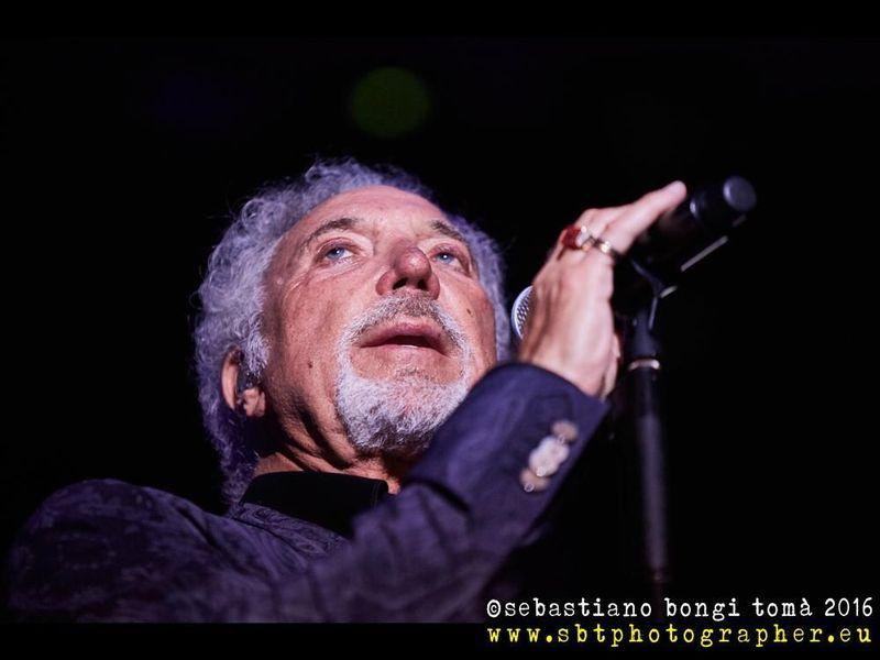 9 luglio 2016 - Lucca Summer Festival - Piazza Napoleone - Lucca - Tom Jones in concerto