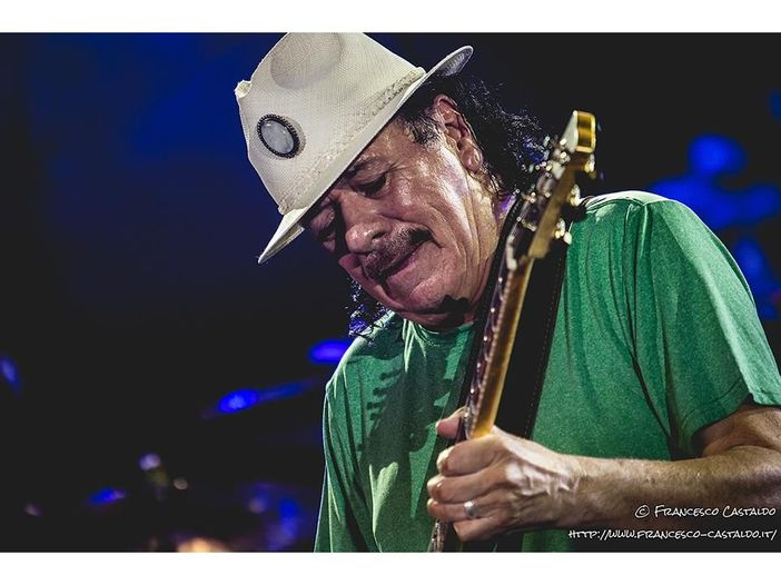 Concerti: tre live di Carlos Santana in Italia a giugno
