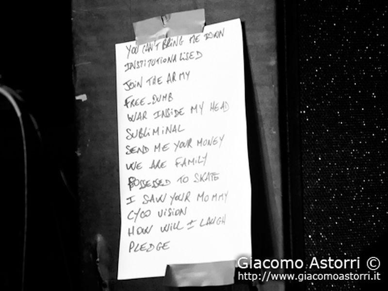 9 Agosto 2011 - Mamamia - Senigallia (An) - Suicidal Tendencies in concerto