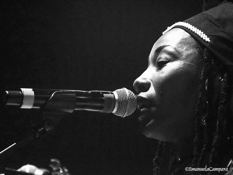 23 luglio 2018 - Carroponte - Sesto San Giovanni (Mi) - Fatoumata Diawara in concerto