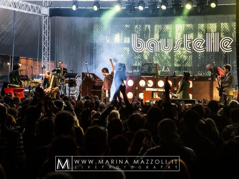 12 aprile 2017 - Piazza delle Feste - Genova - Baustelle in concerto