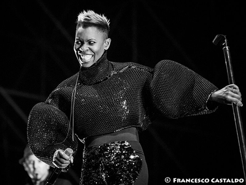 15 luglio 2013 - Ippodromo del Galoppo - Milano - Skunk Anansie in concerto