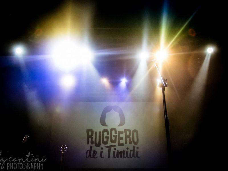 28 ottobre 2017 - Fabrique - Milano - Ruggero de I Timidi in concerto