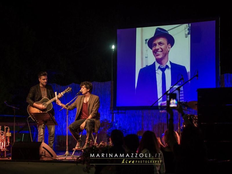 24 agosto 2016 - Piscina Comunale - Lumarzo (Ge) - Ermal Meta in concerto