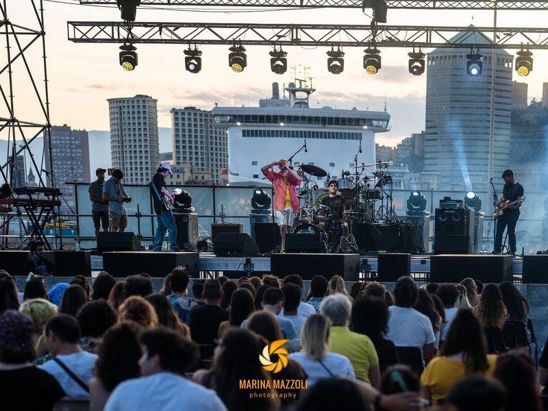 10 luglio 2021 - Balena Festival - Porto Antico - Genova - Canca in concerto