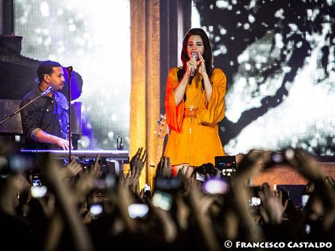 May 7th, 2013 - MediolanumForum - Assago (Mi) - Lana Del Rey in concert