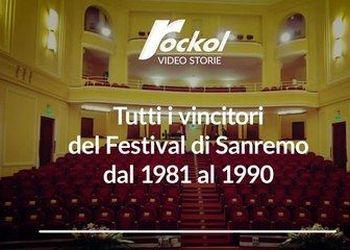 Tutti i vincitori del Festival di Sanremo dal 1981 al 1990