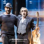 6 dicembre 2014 - Targhe Tenco 2014 - Teatro Ariston - Sanremo (Im) - Raiz e Fausto Mesolella in concerto