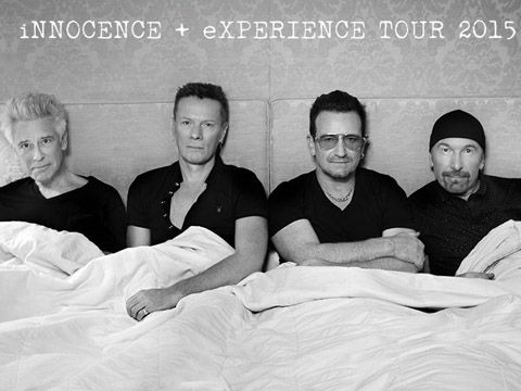 U2 foto promo tour 2015