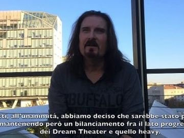 "Dream Theater - JamesLaBrie racconta il nuovo album ""Distance over time"""