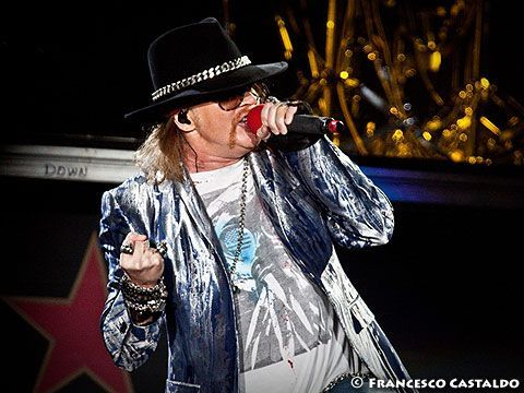 Guns N' Roses: Axl Rose's stolen jewellery recovered by police