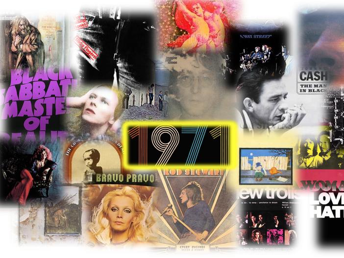1971: un'annata discograficamente memorabile