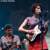 9 Luglio 2009 - Traffic Free Festival - Venaria (To) - St. Vincent in concerto