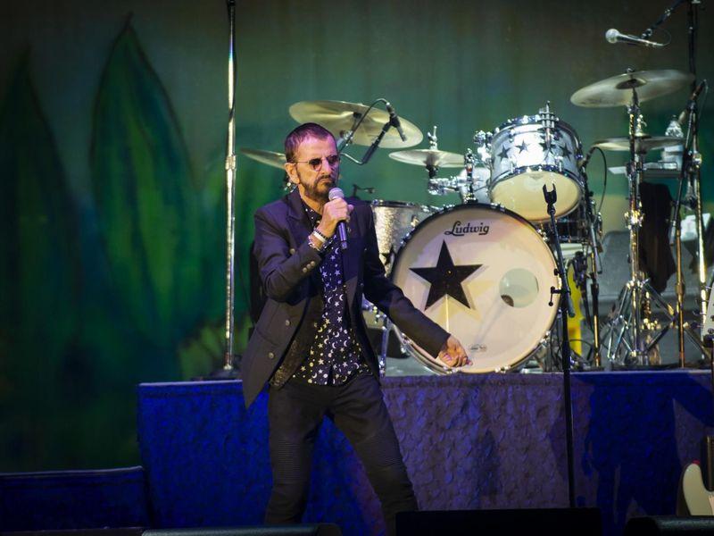 Ringo Starr and his All Starr Band al Lucca Summer Festival, 8 luglio