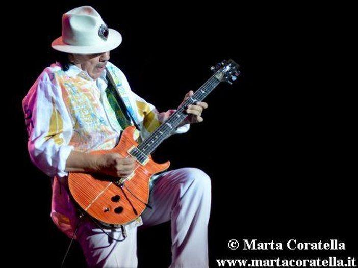 Concerti, Santana: quattro date in Italia a luglio
