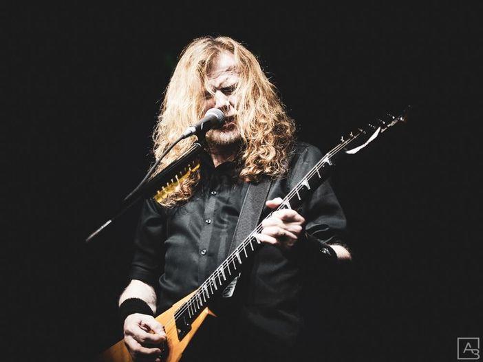 """Dave Mustaine: """"Abbiamo diciotto canzoni per il nuovo album"""""""