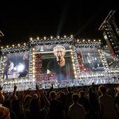 Ligabue prove generali del tour a Reggio Emilia 8 giugno 2019