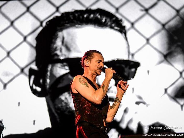 Depeche Mode: i video del concerto all'Olimpico di Roma - GUARDA