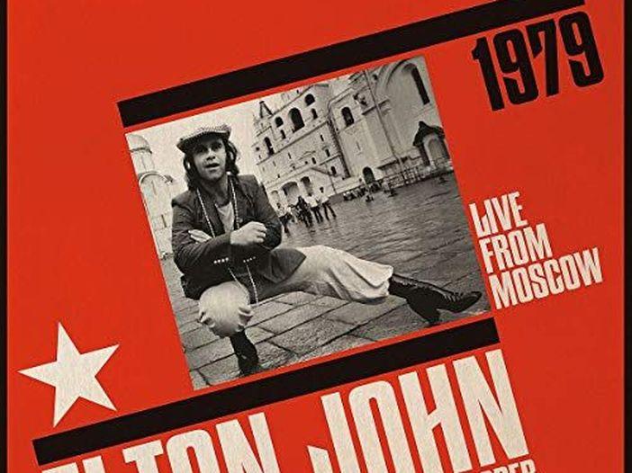 Elton John, il concerto a Mosca del '79 diventa un album dal vivo ufficiale