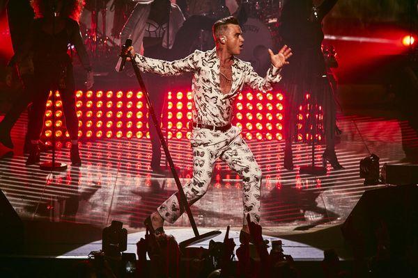 Robbie Williams all'Apple Music Festival di Londra- RECENSIONE E FOTO