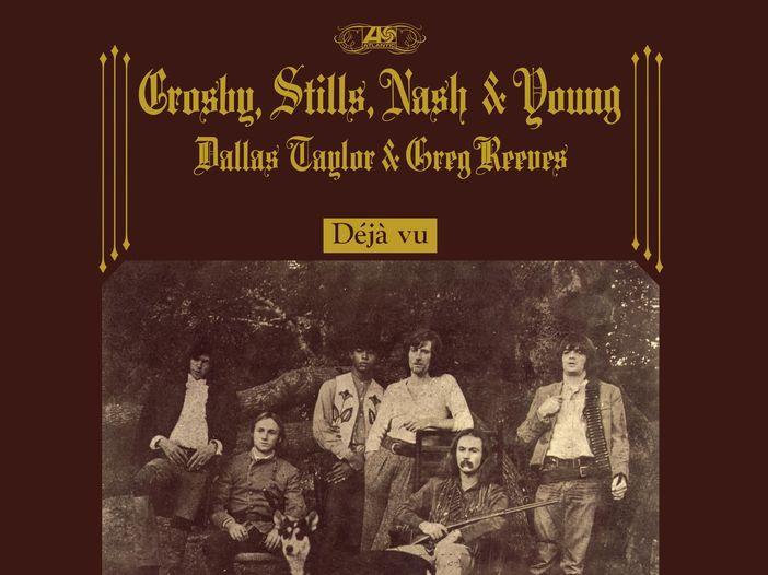 Crosby, Stills, Nash & Young: in arrivo la ristampa di 'Déjà vu' con inediti