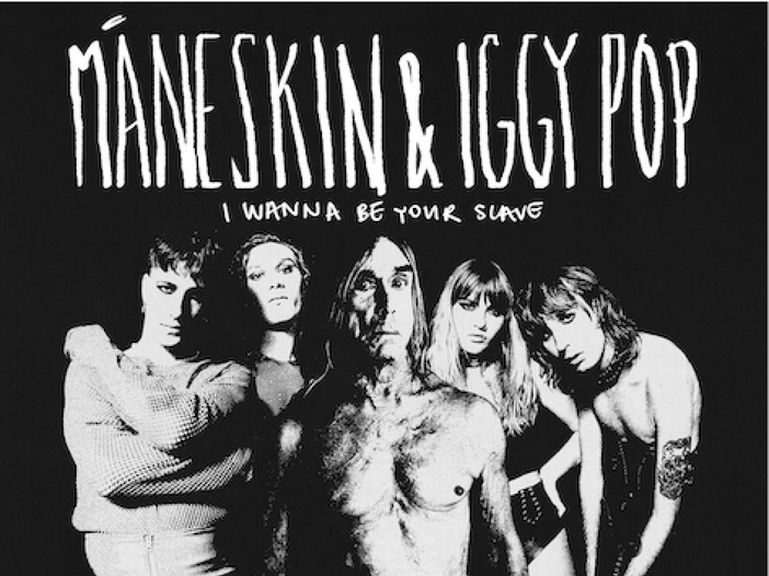 "√ Maneskin e Iggy Pop insieme nella nuova versione di ""I wanna be your  slave"" - Rockol"