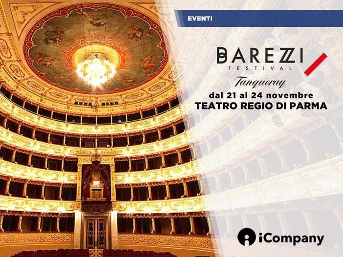 Barezzi Festival 2018 dal 21 al 24 novembre al Teatro Regio di Parma - CALENDARIO