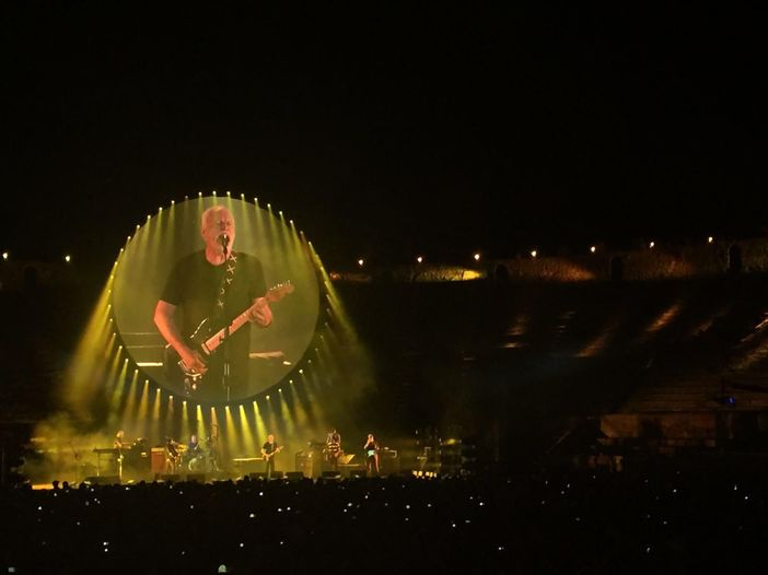 David Gilmour alla Royal Albert Hall, i titoli dei brani del DVD