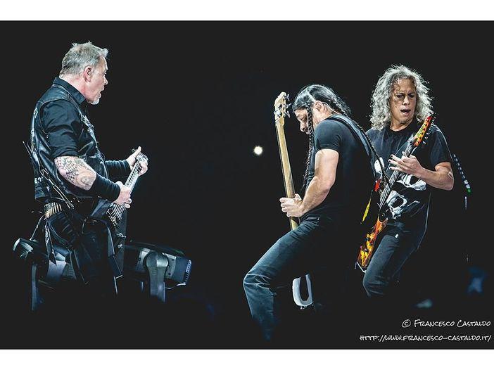 I Metallica lanciano il loro marchio di whiskey