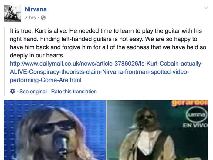 Nirvana: ritrovata una registrazione inedita di un 'mini set' del 1991- ASCOLTA