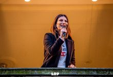 Laura Pausini partecipa a OHM Live, venerdì 29 maggio