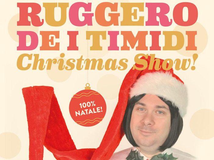"""Ruggero de I Timidi, esce l'album """"Natale romantico"""" e parte il tour nei teatri - VIDEO"""