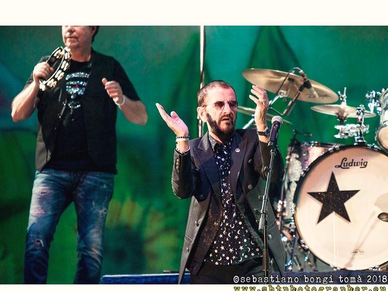 8 luglio 2018 - Lucca Summer Festival - Ringo Starr in concerto