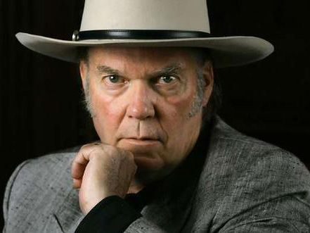 Neil Young is recording with Crazy Horse