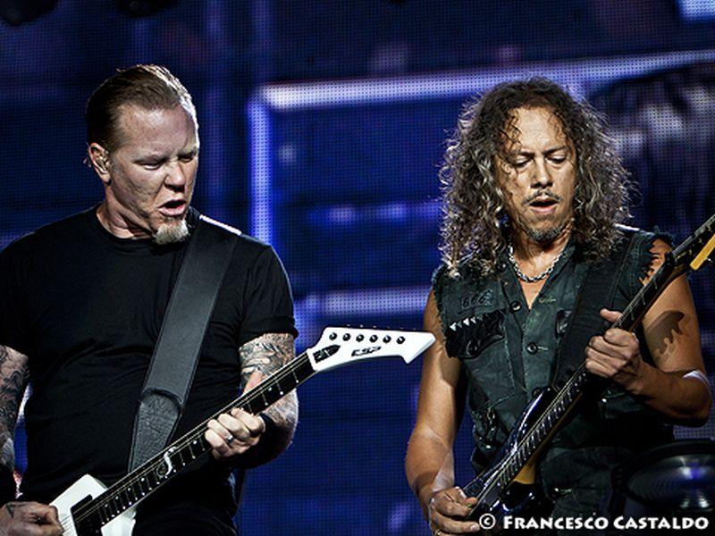 6 Luglio 2011 - Big 4 - Arena Concerti Fiera - Rho (Mi) - Metallica in concerto