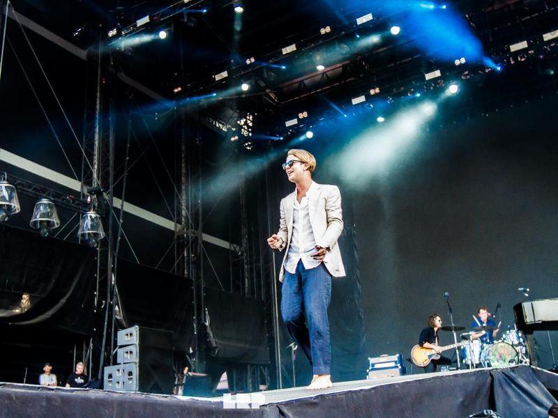 12 agosto 2019 - Sziget Festival - Budapest - Tom Odell in concerto