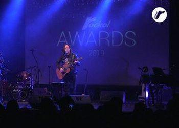 La performance ai Rockol Awards 2019 con Rodrigo D'Erasmo